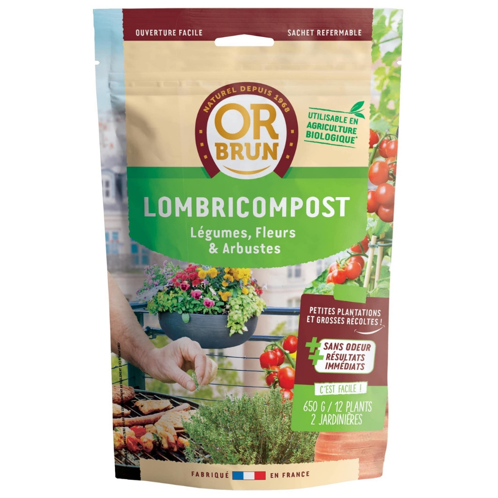 Lombricompost Or Brun 650G